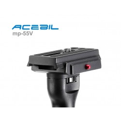 Acebil MP-55V Monopod with S-3 Head