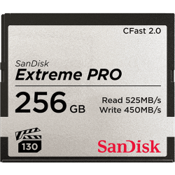 Sandisk Extreme Pro CFast 2.0 Memory Card - 256b