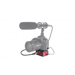 Saramonic SR-AX101 - Universal Audio Adapter with Dual XLR Inputs for DSLR Cameras & Camcorders