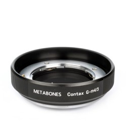 Metabones Contax G Lens to Micro 4/3 Adapter (Black Matt)