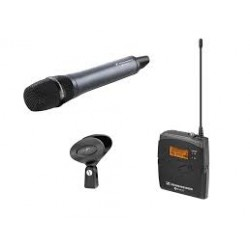 Sennheiser EW 135-P G3 ENG system with hand-held microphone