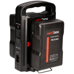 Hedbox PB300V Professional V-Mount Power Bank Set 300Wh (inc. 2x 150Wh Batteries)
