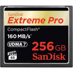Sandisk 256GB Extreme Pro 160Mbs Compact Flash Memory Card